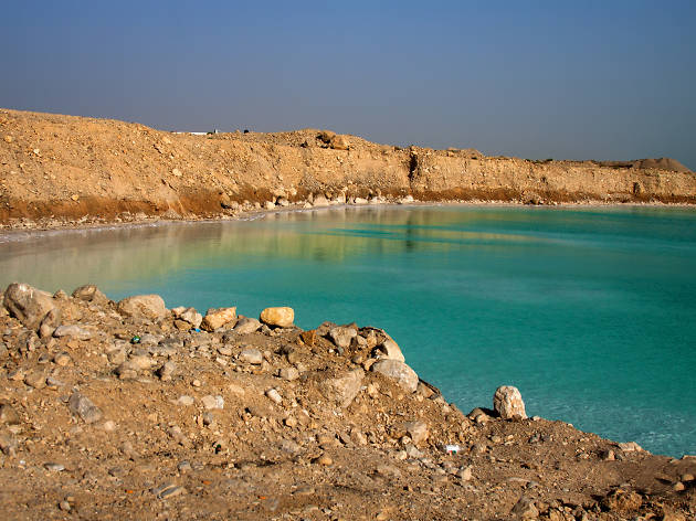 Take a dip in the Dead Sea, Israel's natural spa