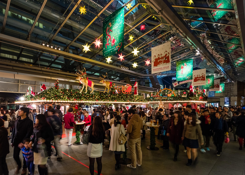 東京、クリスマスマーケット2016
