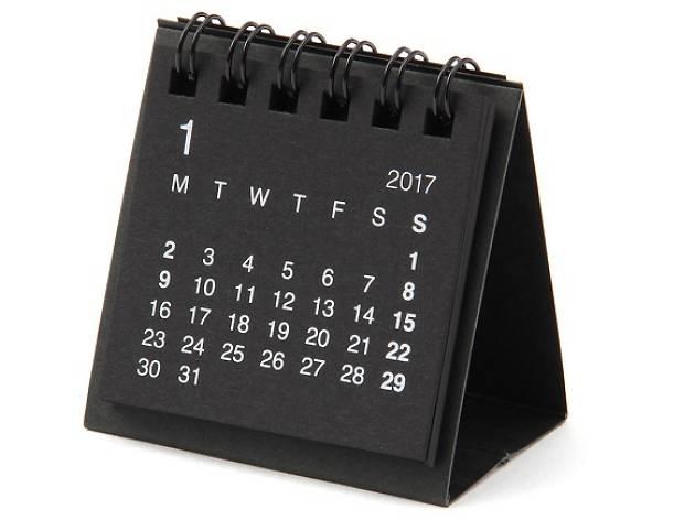 Calendario para fechas importantes