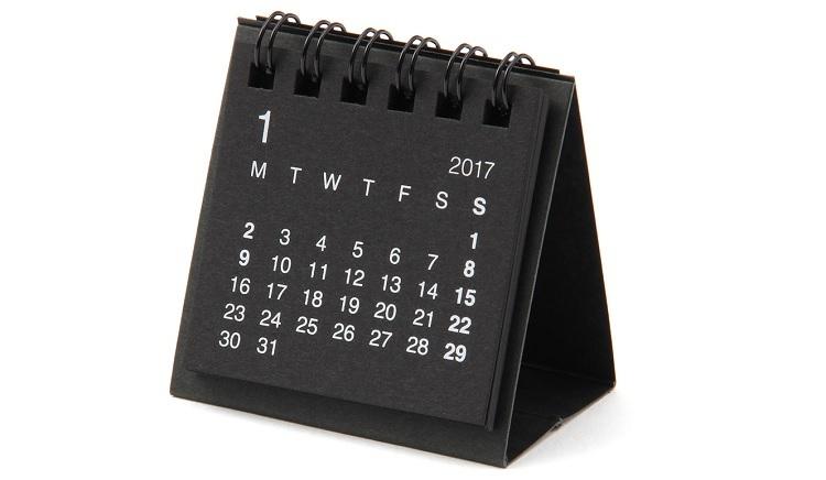 Calendario Muji