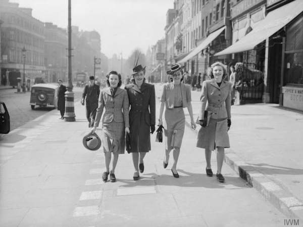 Fashion On The Ration: 1940s Street Style