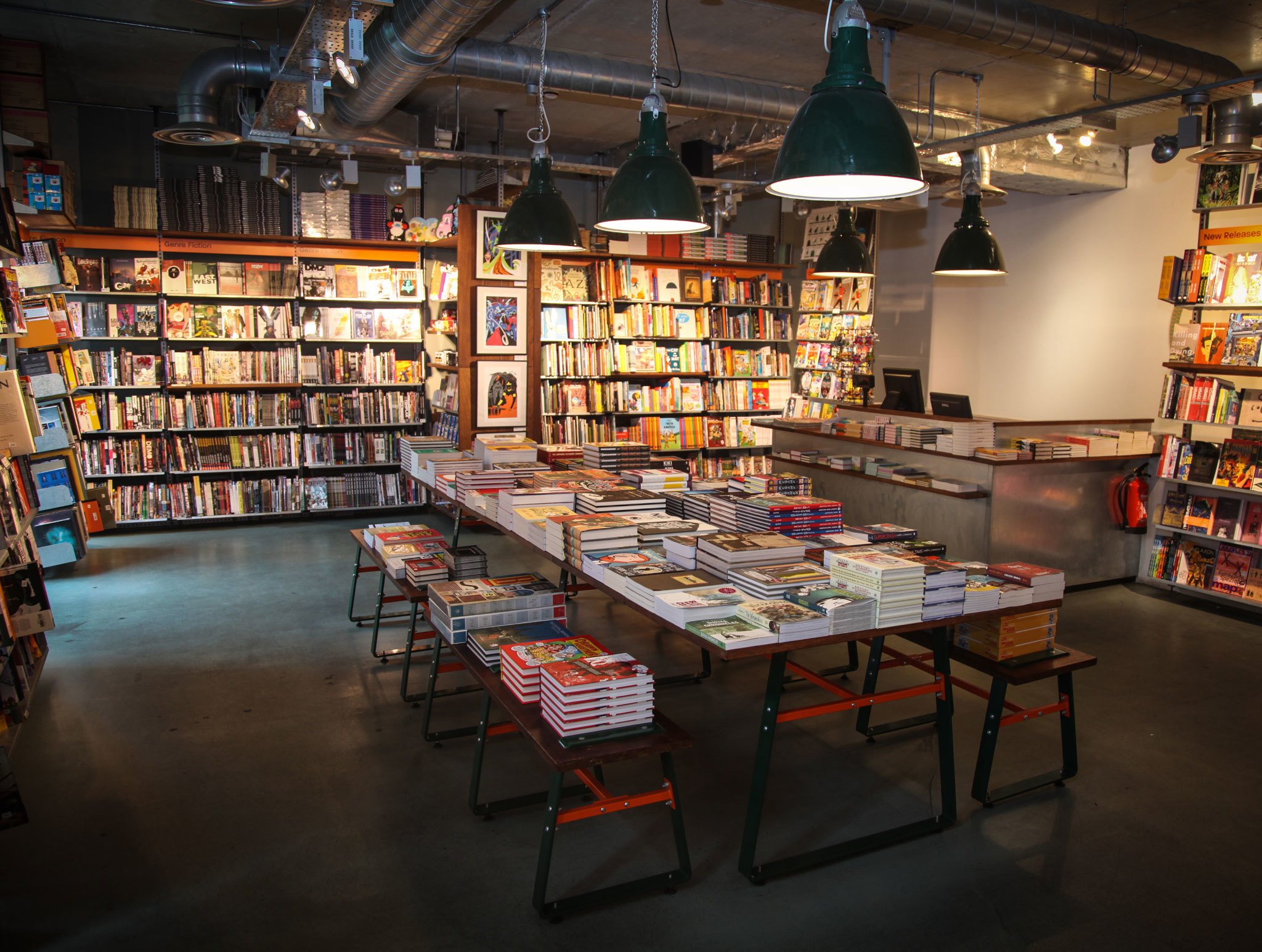 Gosh! - Best bookshops