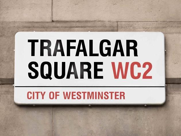Street sign - Ten iconic London designs