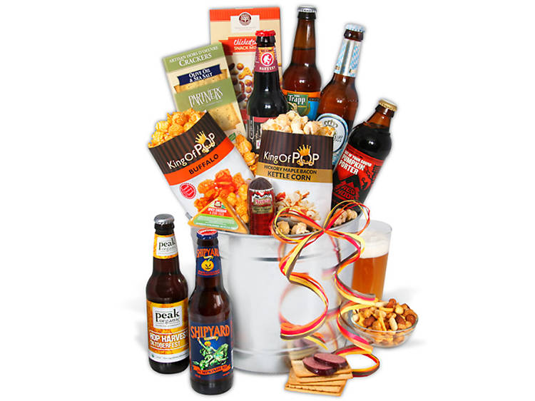 Gourmet Gift Baskets Fall Seasonal Beer Bucket