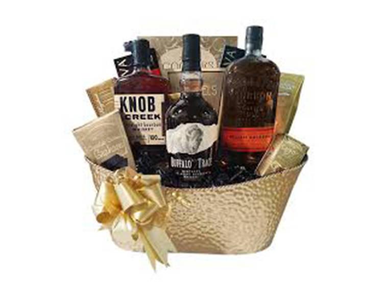 Build a Basket Bourbon Lover's Ultimate Gift Basket