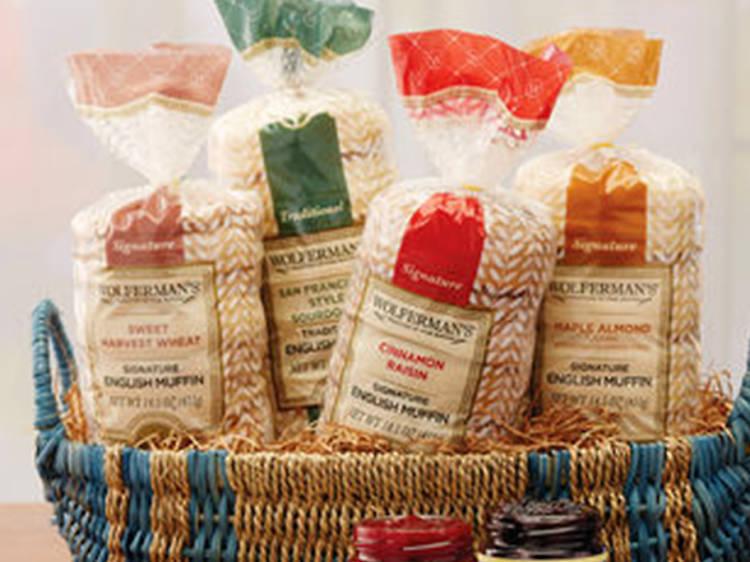 Wolferman's Gourmet Morning Gift Basket