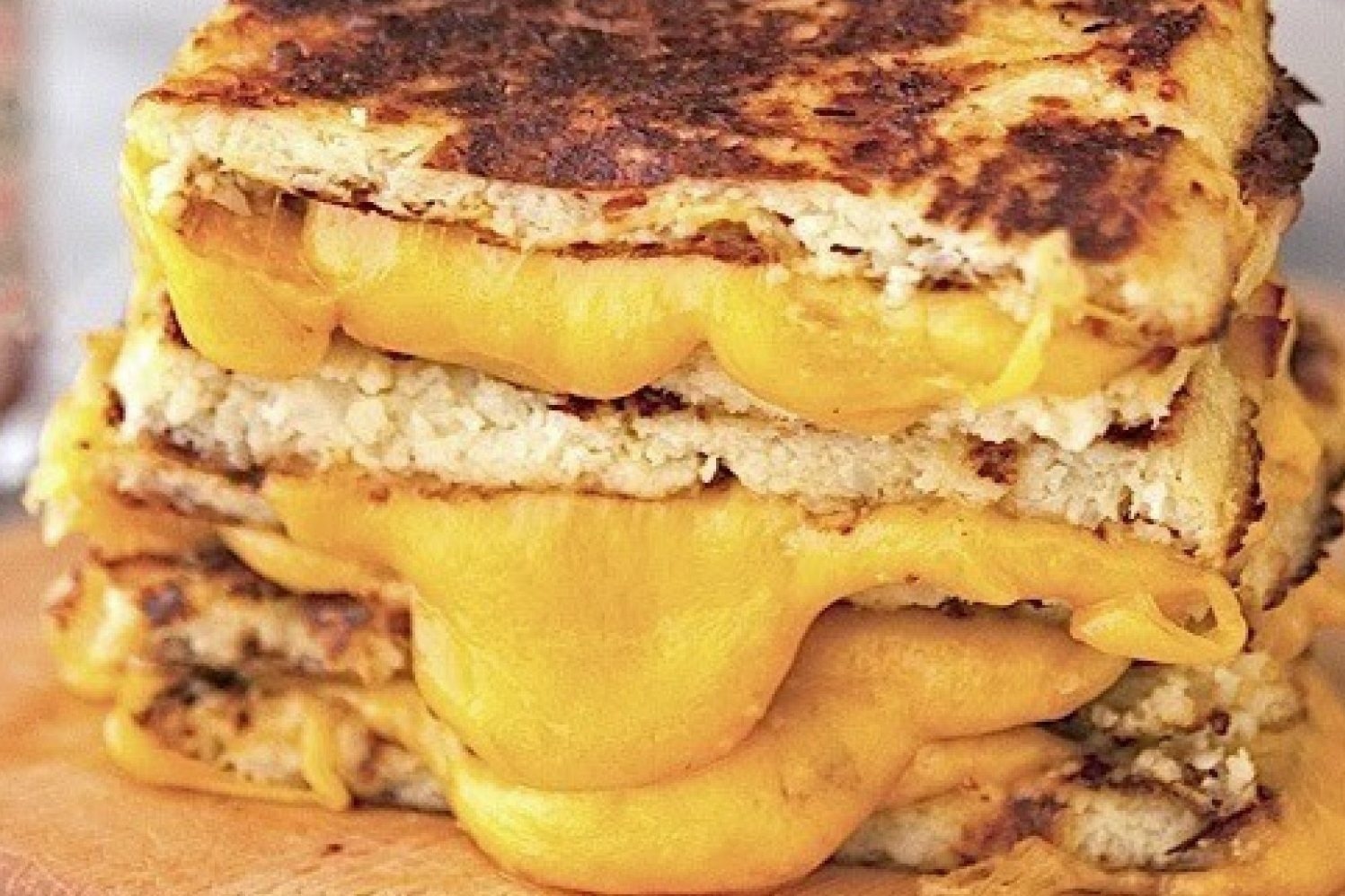 Grilled Cheese Meltdown