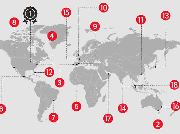 Las ciudades más divertidas del mundo