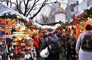 The Columbus Circle Holiday Market opens today with over 50 vendors