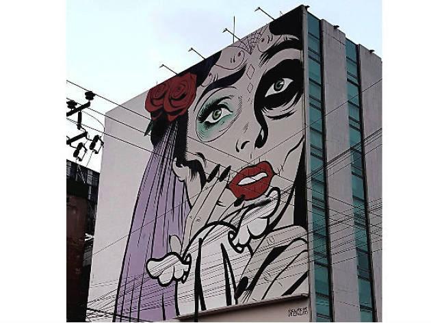 Fotografías de arte urbano en Instagram