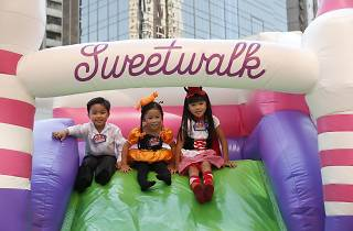 Discovery Park x Sweetwalk Christmas Bouncy Castle