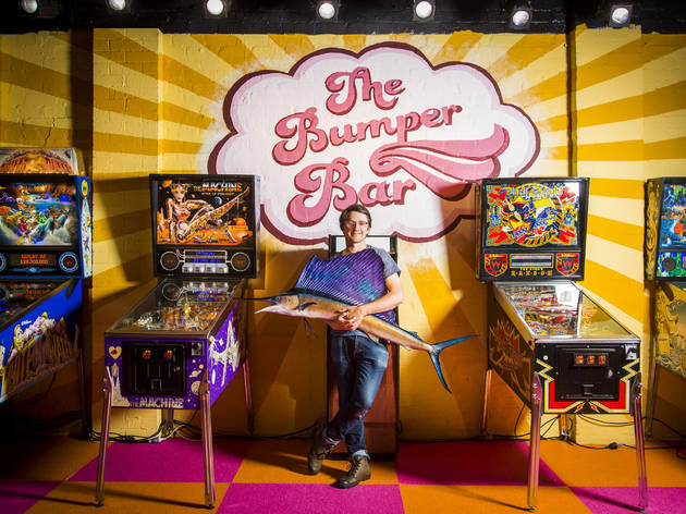 A pop-up pinball parlour and bar is coming to Surry Hills