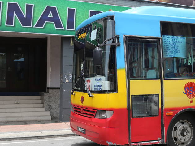 Hop on a Klang mini bus