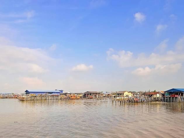 Take a ferry to Pulau Ketam