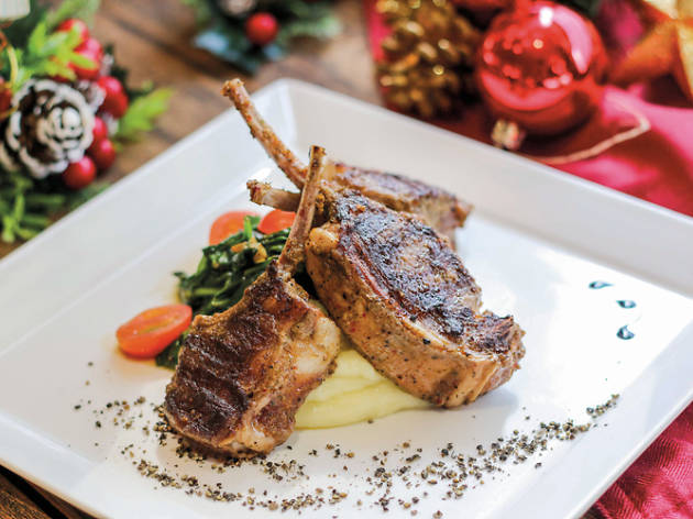 Nassim Hill's Christmas dinner