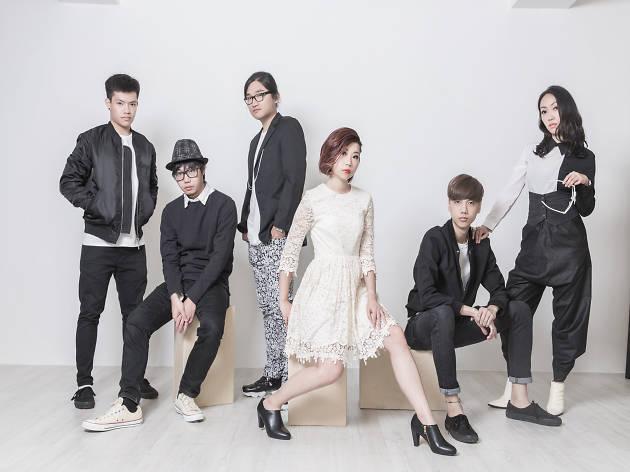 Band-Aid group shot