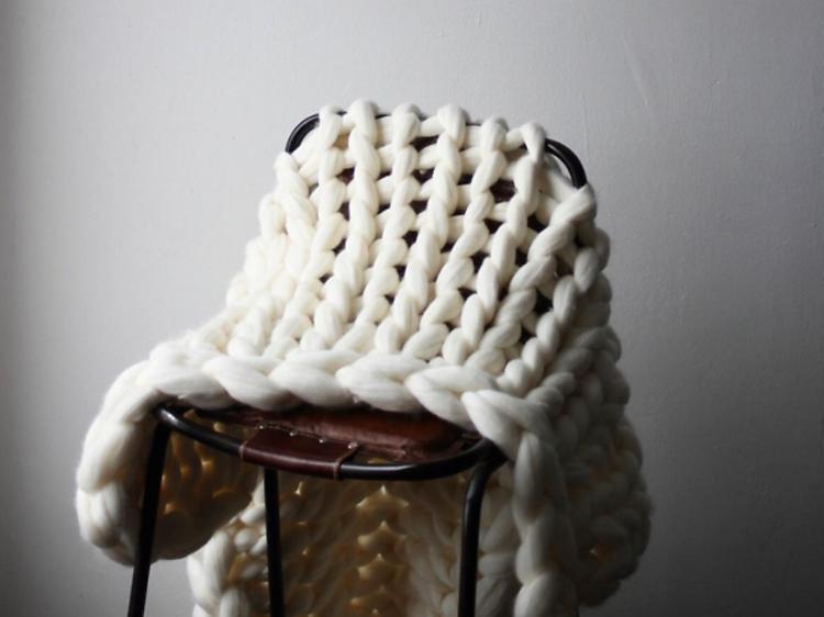 Un cours d'arm knitting