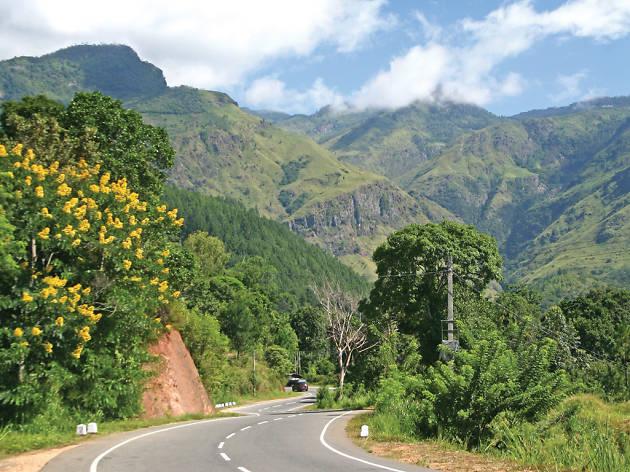 Travel across Sri Lanka