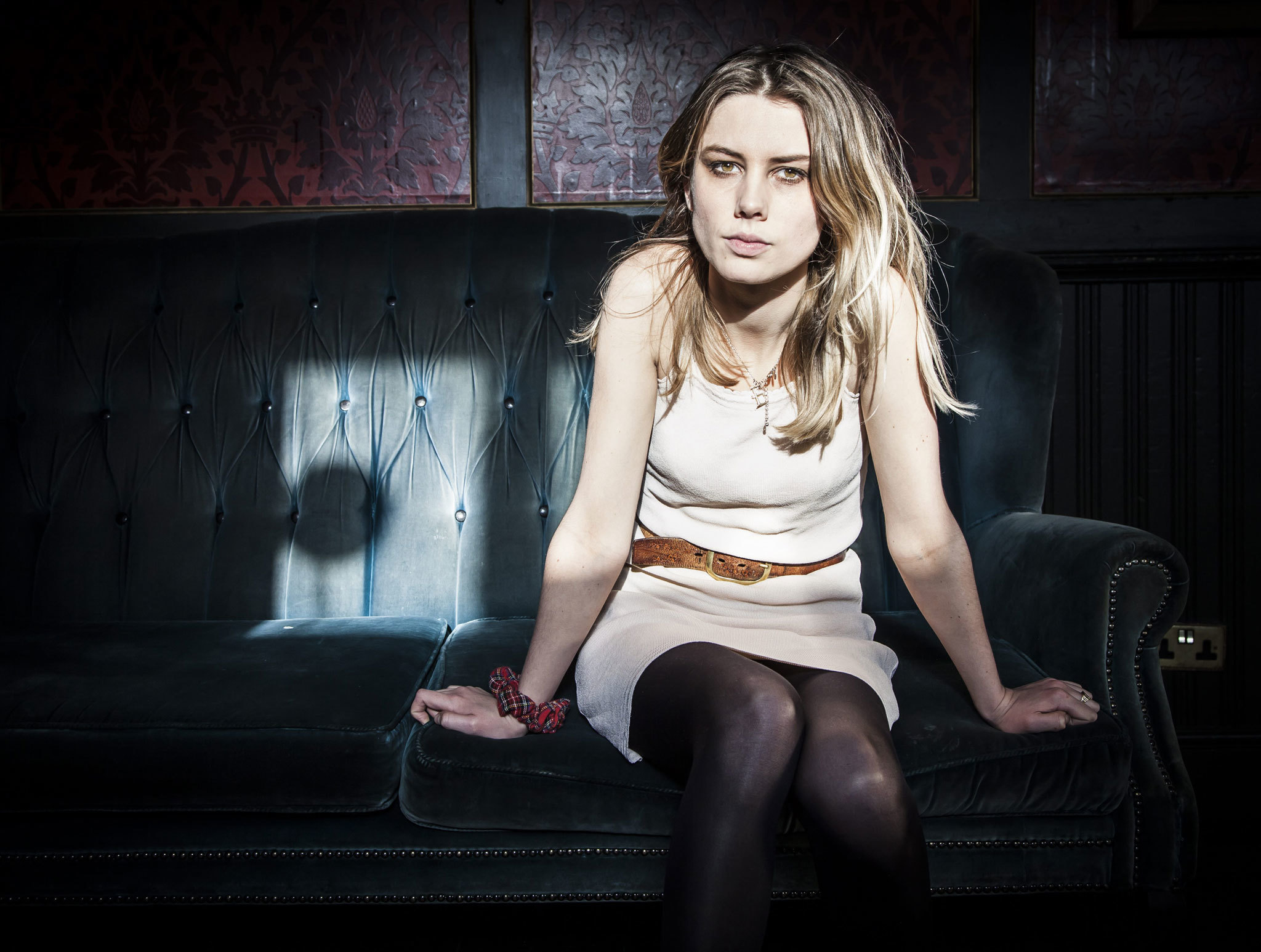 Ellie from Wolf Alice: 'We stand in solidarity with refugees'