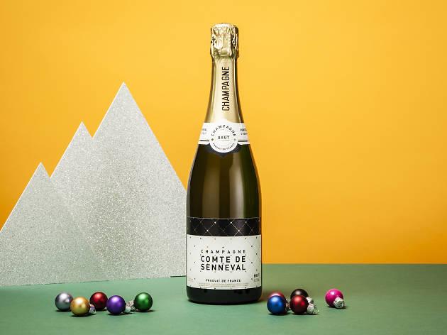 Comte de Senneval Champagne, £9.99, Lidl