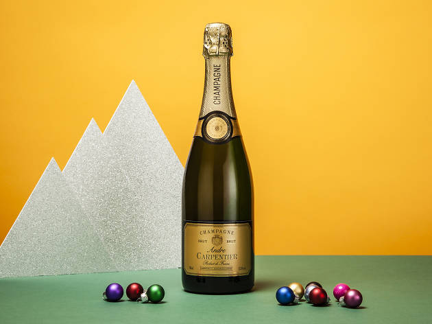 Champagne Andre Carpentier, £13, Tesco