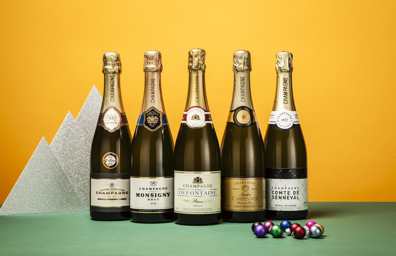 Tasted and rated: five supermarket champagnes under £15