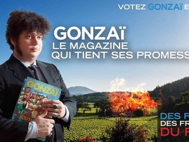 Un abonnement d'un an au magazine Gonzaï