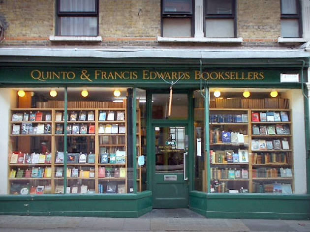 Quinto & Francis Edwards Booksellers - Best bookshops London