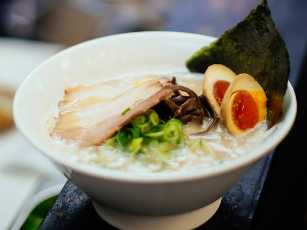best ramen in london, kanada-ya