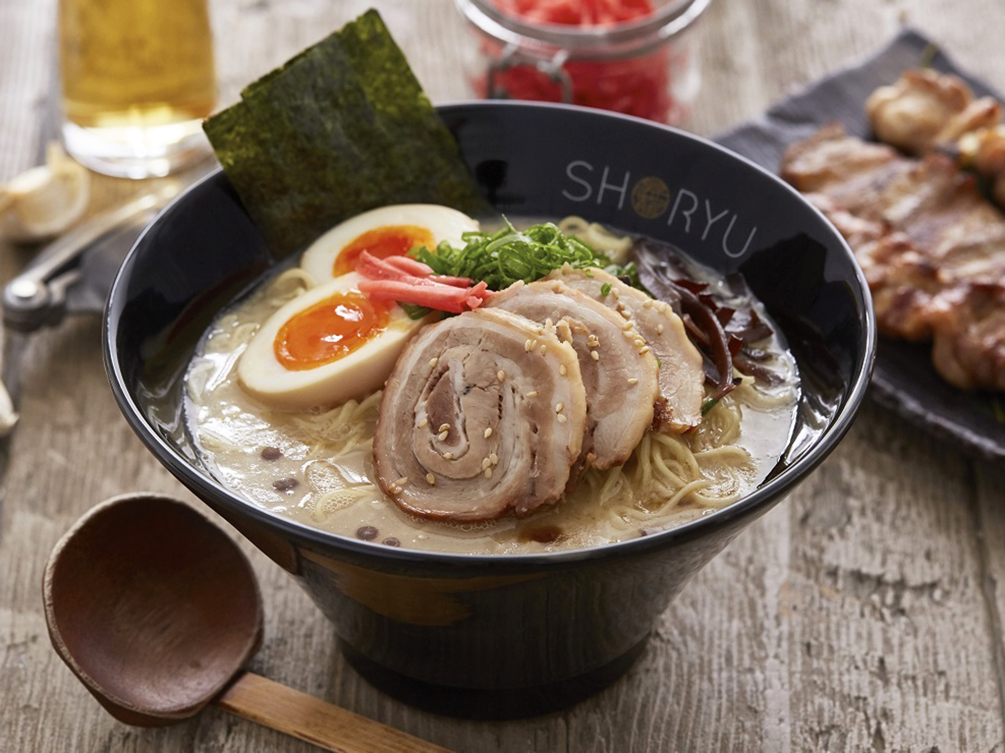 london's best ramen restaurants, shoryu ramen