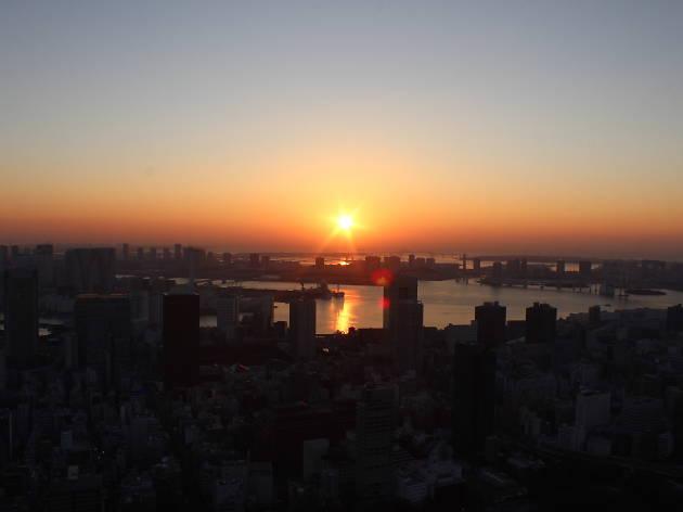 """""""東京タワー初日の出&初詣  """""""