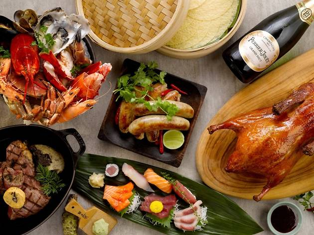 Five NYE buffets at the Grand Hyatt Singapore