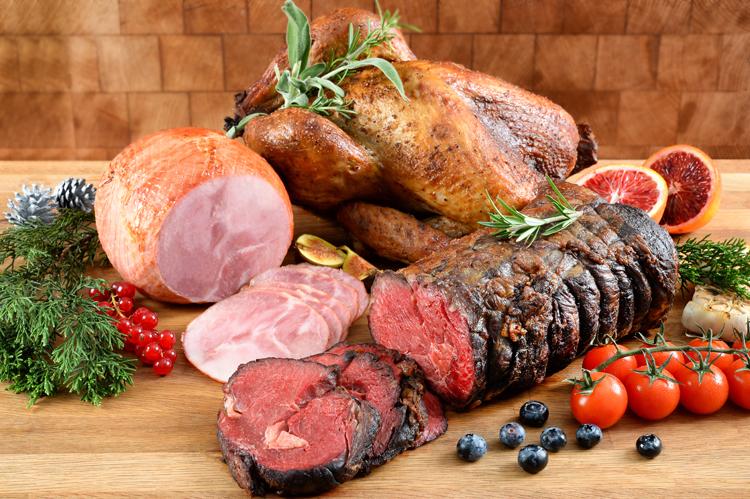 Classic Christmas Beef Roast Set ($298)