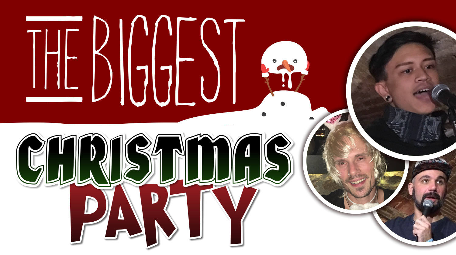 The Biggest Christmas Party in Barcelona – Live Music & Comedy