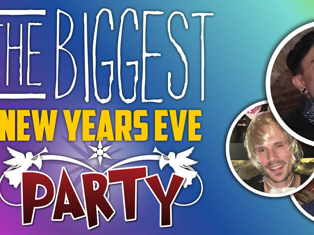 The Biggest New Year's Party in Barcelona – Live Music & Comedy