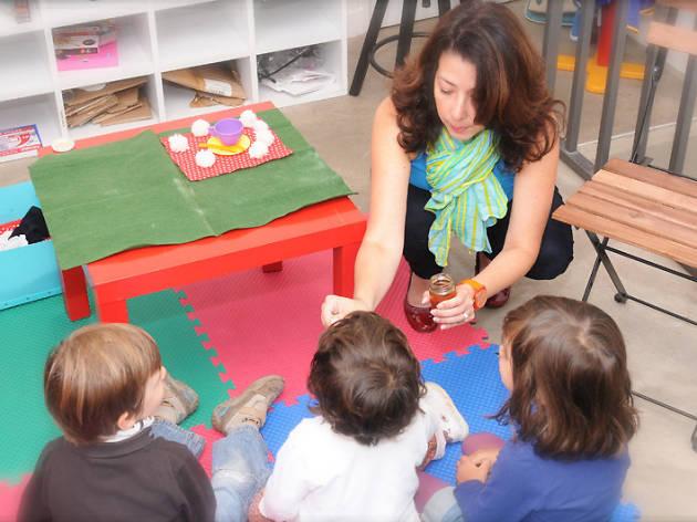 Atelier bilingue chez Trazo LIbre