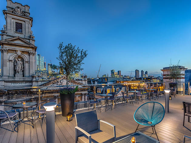 Shoreditch Courthouse Hotel - Roof Terrace