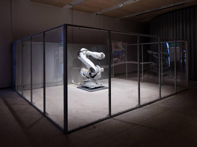 Madeline Gannon's 'Mimus' - Design Museum - Fear & Love Exhibition