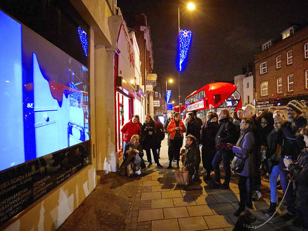Christmas films at Tintype, Essex Road