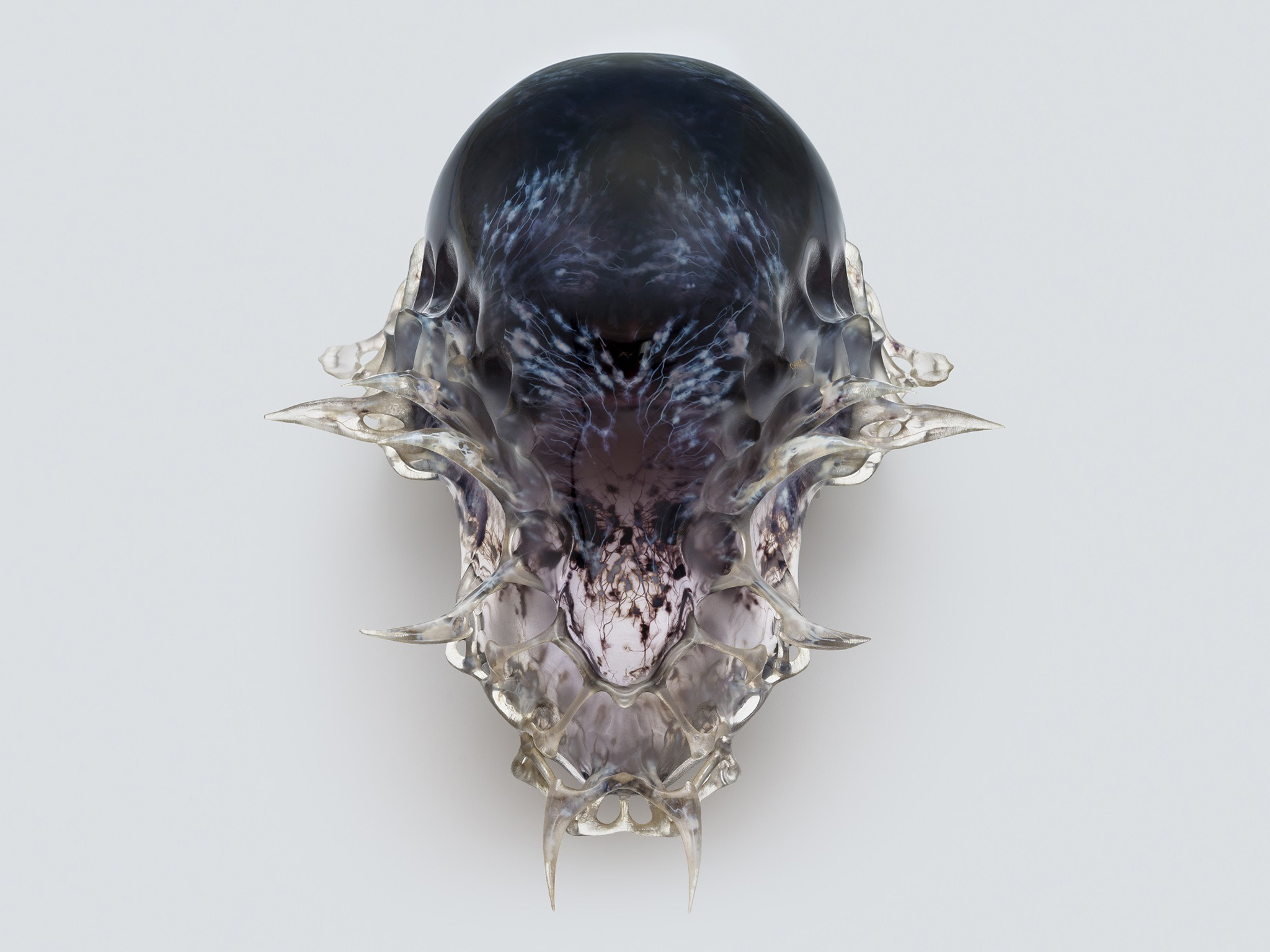 Neri Oxman - Björk death mask - Design Museum