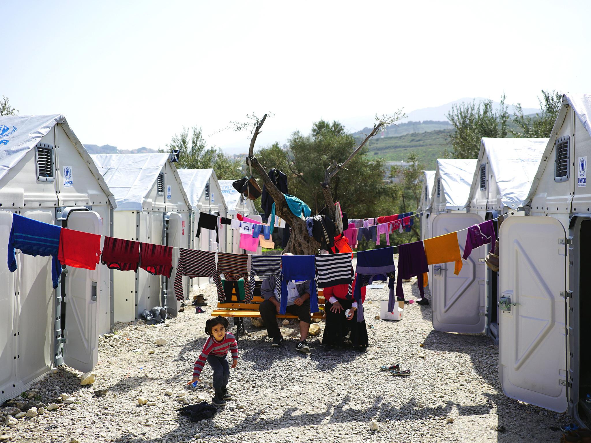 Ikea flatpack refugee centre - Design Museum