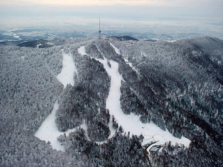 Sjleme mountain