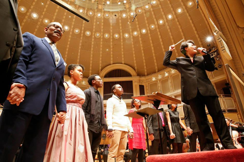 A guide to winter 2017 classical concerts and operas in chicago chicago sinfonietta mlk tribute concert solutioingenieria Images