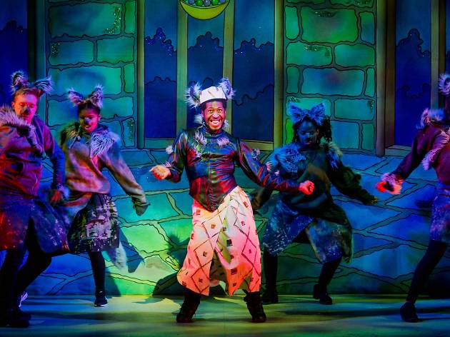 Christmas pantomimes in London
