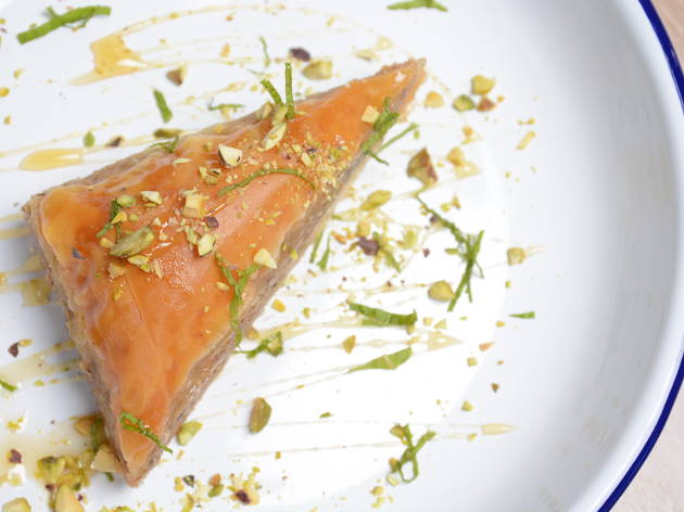 Baklava at Inotheke