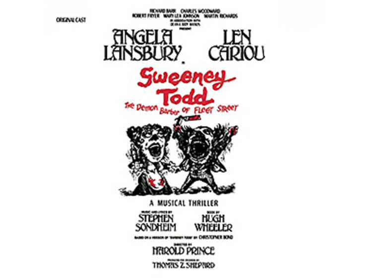 """""""A Little Priest"""" from Sweeney Todd (1979)"""