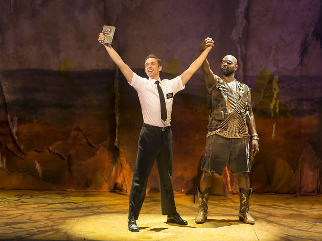 Nic Rouleau and Chris Jarman in The Book of Mormon