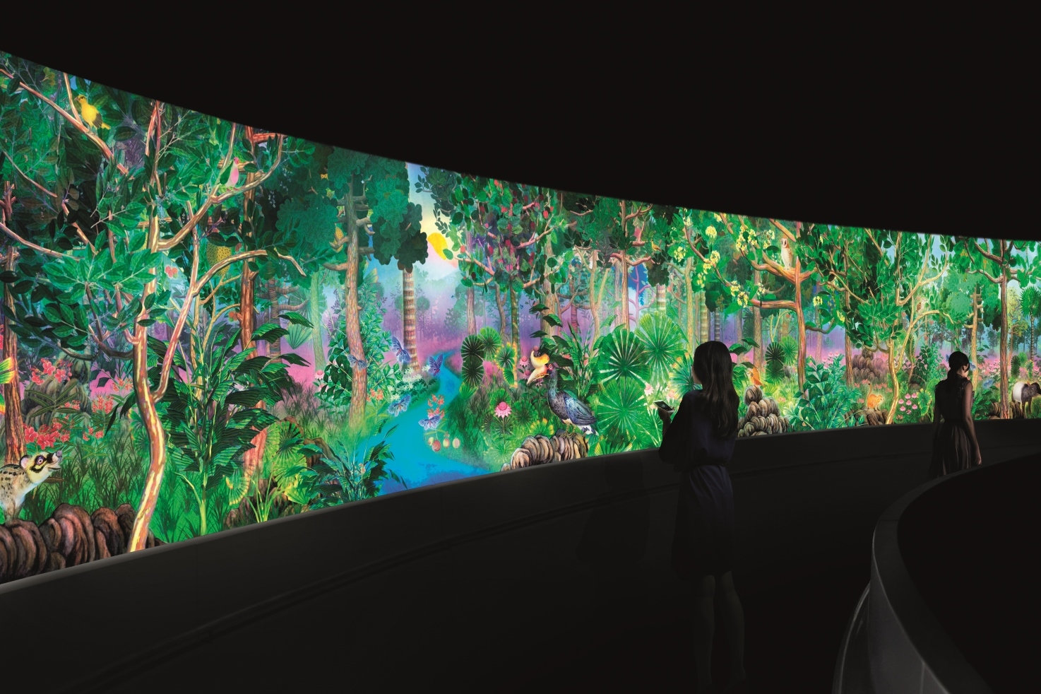 Interview: teamLab (Story of the Forest)