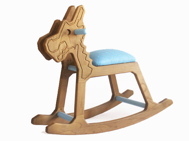 Small Dragon Rocking Horse ($449)