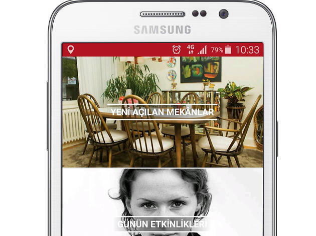 Time Out Android uygulaması